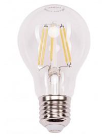Филаментная светодиодная лампа Luxel 072-H 7W E27 2700K 880 lm 8 нитей (072-H 7W)