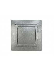 Выключатель BRAVO (5702) графит