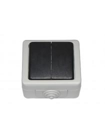 Блок двойной выключатель DEBUT (6503)
