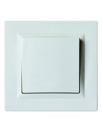 Выключатель одинарный JAZZ (9002) белый