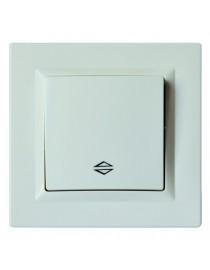 Выключатель проходной JAZZ (9015) белый