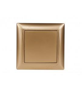 Выключатель PRIMERA (3602) золото