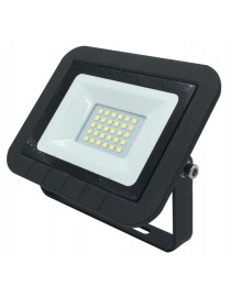 Светодиодный прожектор Luxel 135х110х28,4мм 220-240V 20W IP65 (LED-LPE-20С 20W)