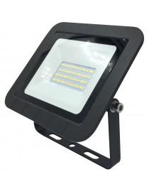 Светодиодный прожектор Luxel 160х159х22,2мм 220-240V 30W IP65 (LED-LPE-30С 30W)