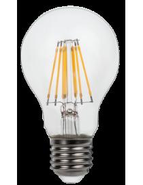 Филаментная светодиодная лампа Luxel 073-H A60(filament) 9W E27 2700K 930lm 8 нитей (073-H A60(filament) 9W)