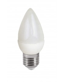 Светодиодная лампа Luxel C37 5W 220V E27 (043-N 5W)