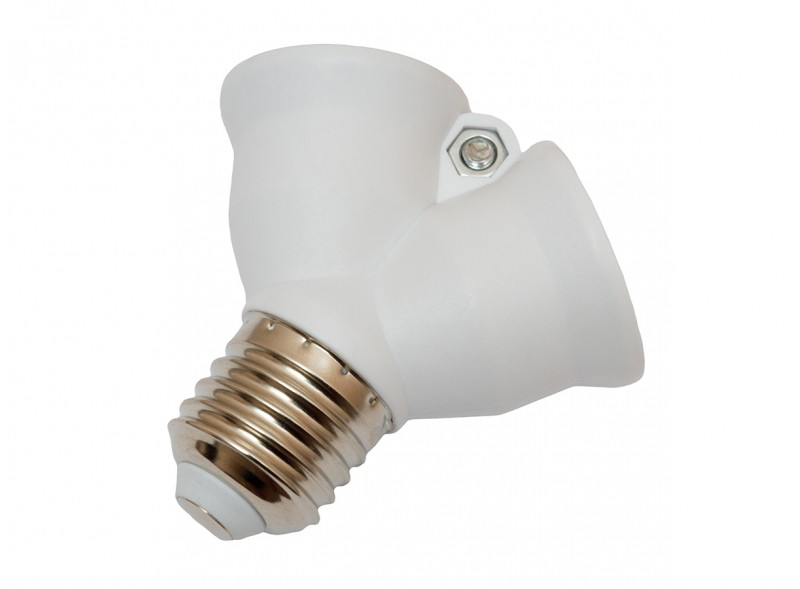 Разветвитель на две лампы Е27 (1038)