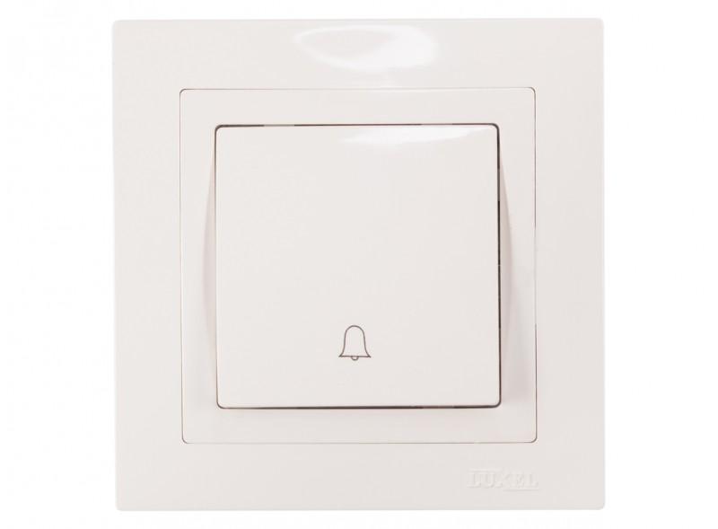 Кнопка звонка BRAVO (5017) белый