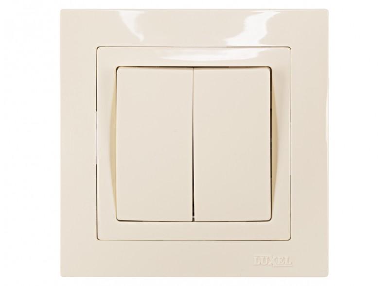 Выключатель двойной BRAVO (5303)