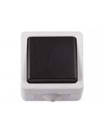 Блок выключатель одинарный Luxel DEBUT (6502)
