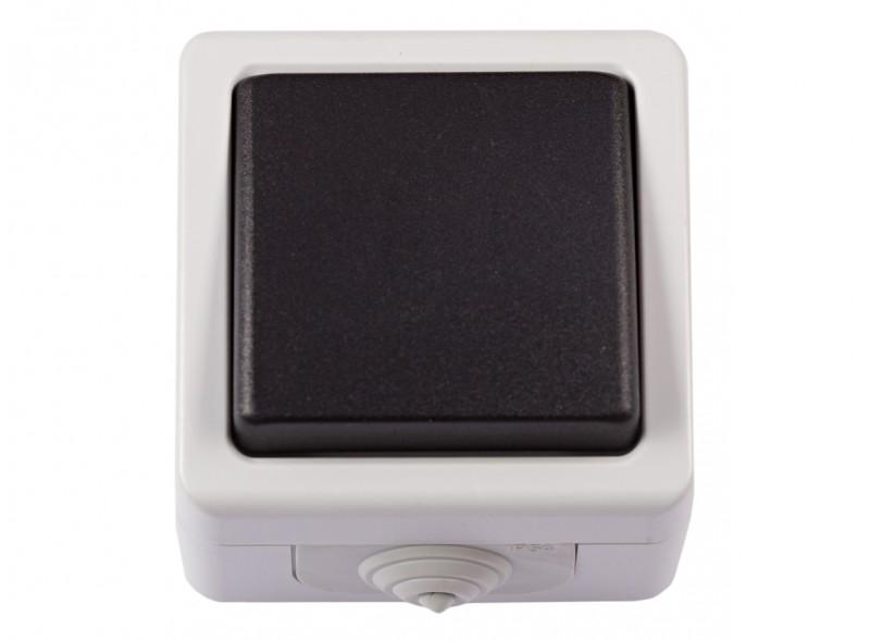 Блок выключатель одинарный DEBUT (6502)