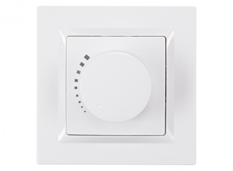 Регулятор яркости света JAZZ (9012) белый