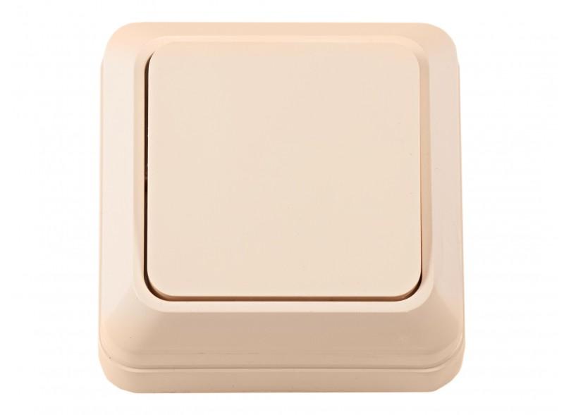 Наружный выключатель OPERA (2302) крем