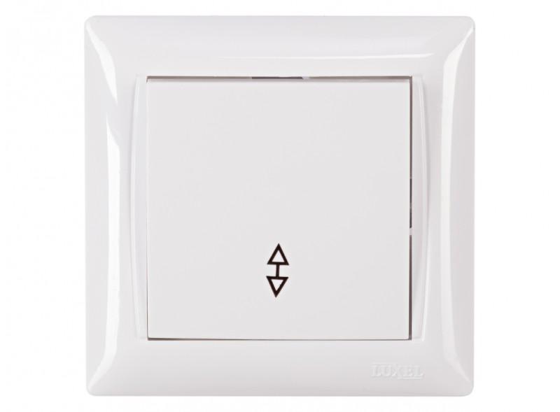 Выключатель проходной PRIMERA (3015) белый
