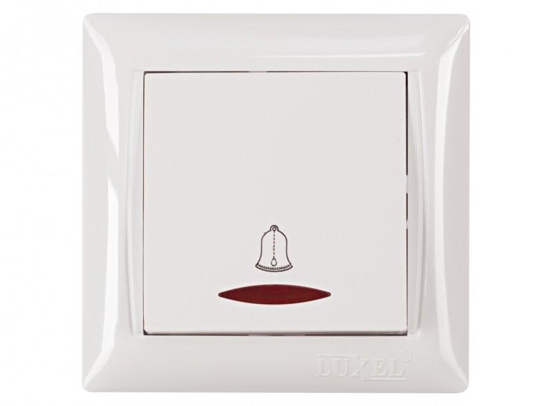 Кнопка звонка с подсветкой PRIMERA  (3018)