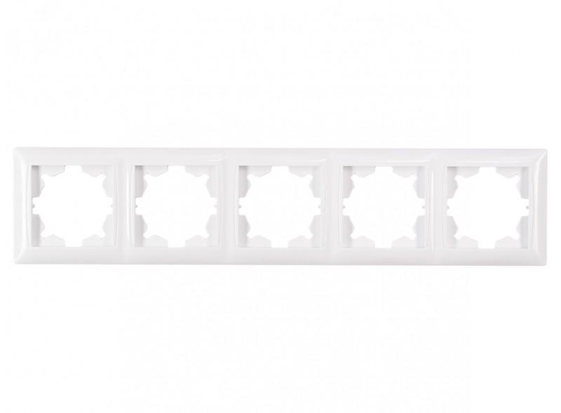 Рамка 5-я горизонтальная PRIMERA (3025) белый