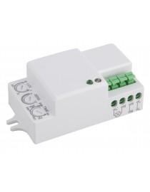 Датчик движения микроволновый Luxel IP20 3-2000 LUX (MW-08W)