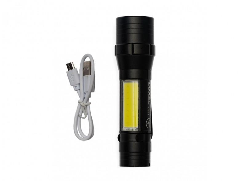 Светодиодный фонарь Luxel 5W IP44 4 режима работы (TR-04)