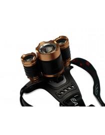 Светодиодный налобный фонарь Luxel 4W IP44 4 режима работы (TR-06)