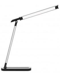 Светодиодный настольный светильник Luxel 220-240V 9W  (TL-07S) Silver