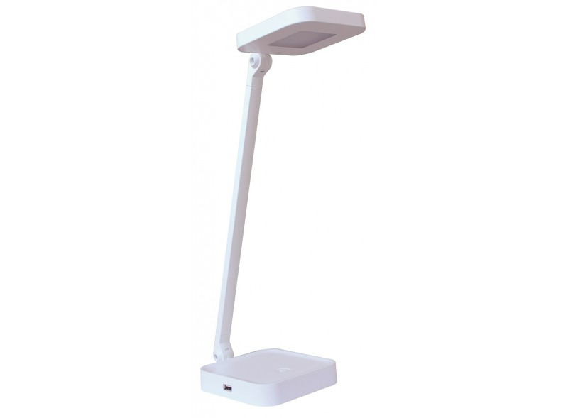 Светодиодный настольный светильник Luxel 220-240V 8W  (TL-08W) Белый