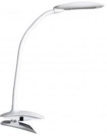 Светодиодный настольный светильник Luxel 220-240V 6W  (TL-09W) Белый