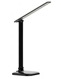 Светодиодный настольный светильник Luxel 175-260V 10W (черный) 4000K (TL-12B)