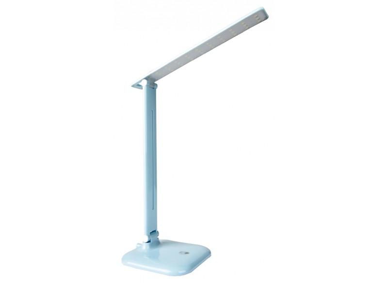 Светодиодный настольный светильник Luxel 175-260V 10W (голубой) 4000K (TL-12BL)