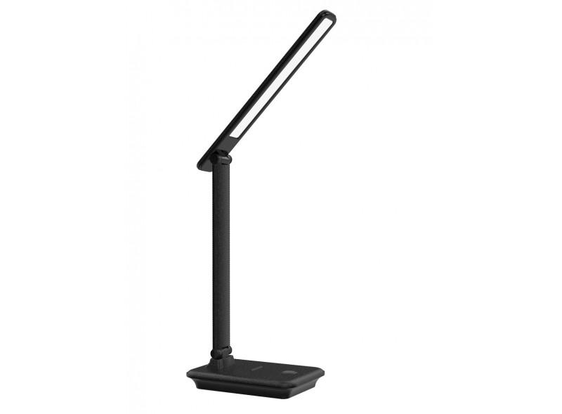 Светодиодный настольный светильник Luxel 175-260V 10W IP20 (TL-13B) Черный