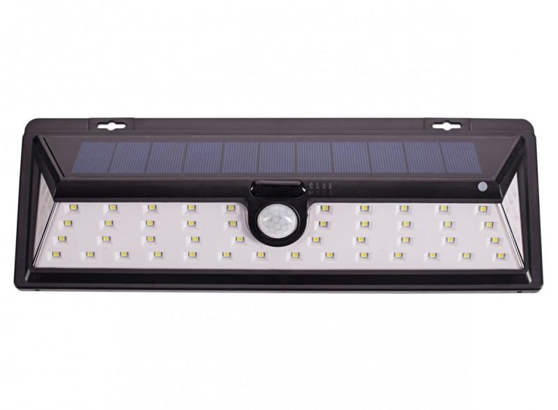 Светодиодный светильник Luxel на солнечных батареях с датчиком движения IP64 27W (SSWl-02C)