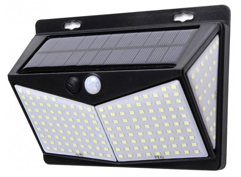 Светодиодный светильник Luxel на солнечных батареях с датчиком движения IP65 20W (SSWl-03C)