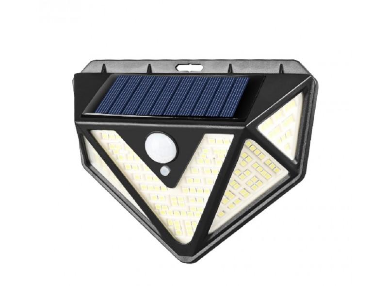Светодиодный светильник Luxel на солнечных батареях с датчиком движения IP65 24W (SSWl-07C)