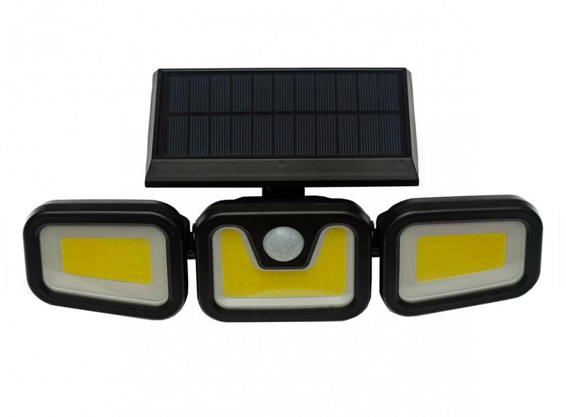 Светодиодный светильник Luxel на солнечных батареях с датчиком движения IP65 48W (SSWl-08C)
