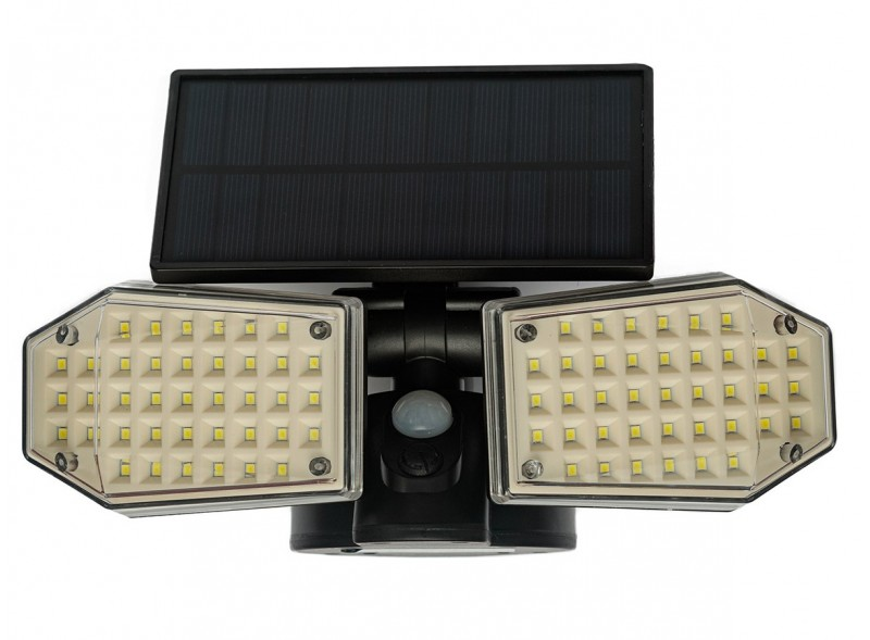 Светодиодный светильник Luxel на солнечных батареях с датчиком движения IP65 40W (SSWl-09C)