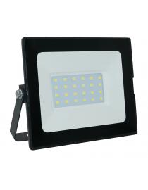 Светодиодный прожектор Luxel 140х104х35мм 175-260V 20W IP65 (LED-LPM-20С 20W)
