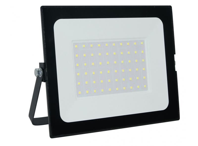 Светодиодный прожектор Luxel 218х168х36мм 175-260V 50W IP65 (LED-LPM-50С 50W)