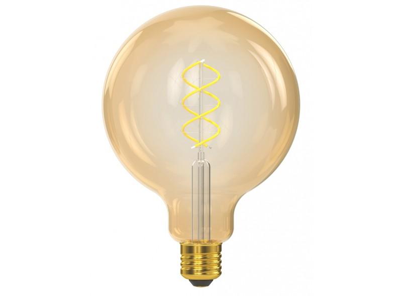 Филаментная светодиодная лампа Luxel 070-HG 6W G125 E27 1800K (070-HG) Gold