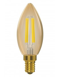 Филаментная светодиодная лампа Luxel 071-HG 5W E14 2500K (071-HG 5W) Gold