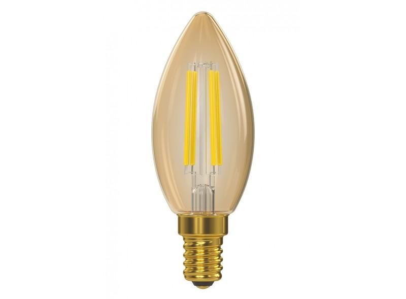 Филаментная светодиодная лампа Luxel 076-HG 7W E14 2500K (076-HG 7W) Gold