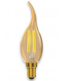 Филаментная светодиодная лампа Luxel 074-HG 5W E14 2500K (074-HG 5W) Gold