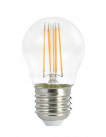Филаментная светодиодная лампа Luxel 075-H 4W E27 2700K (075-H 4W)