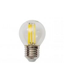 Филаментная светодиодная лампа Luxel 076-H G45 (filament) 6W E27 2700K (076-H 6W)