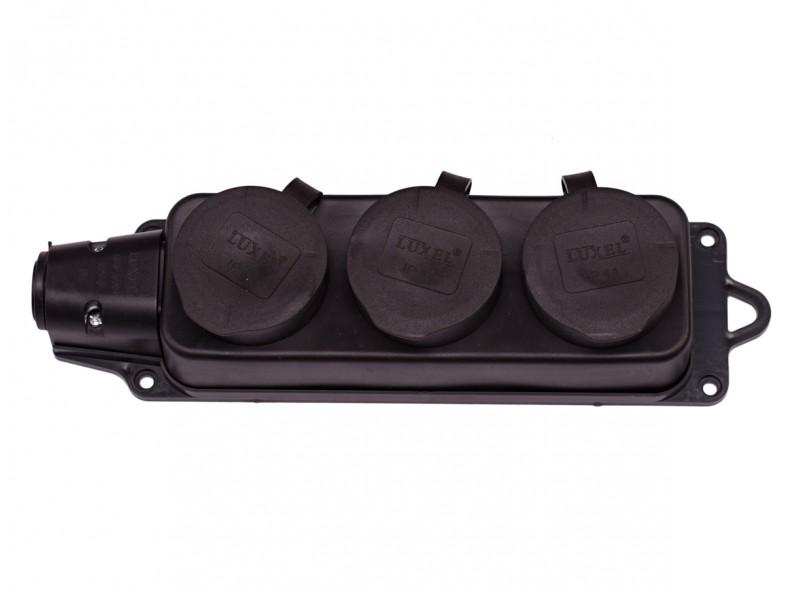 3-я каучук колодка с заземляющим контактом (1133)