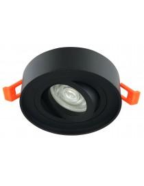 Акцентный светильник luxel GU5.3 IP20 черный (DLD-01B)