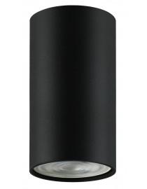 Акцентный светильник luxel GU10 IP20 черный (DLD-03B)