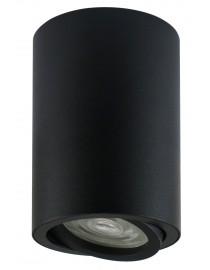 Акцентный светильник luxel GU10 IP20 черный (DLD-04B)