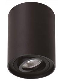 Акцентный светильник luxel GU10 IP20 черный (DLD-05B)