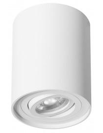 Акцентный светильник luxel GU10 IP20 белый (DLD-05W)