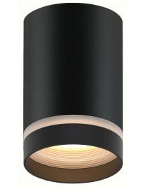 Акцентный светильник luxel GU10 IP20 черный (DLD-06B)