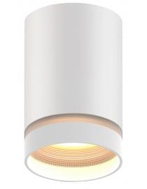 Акцентный светильник luxel GU10 IP20 белый (DLD-06W)